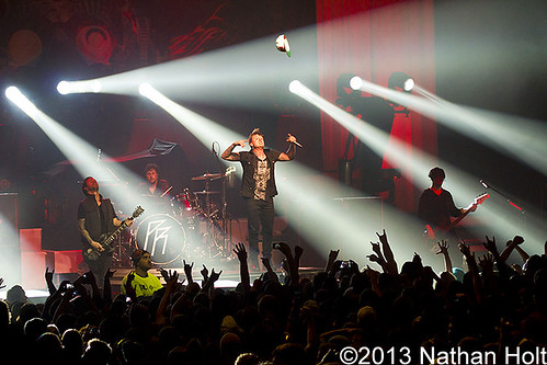 Papa Roach - 01-27-13 - Congress Theatre, Chicago, IL
