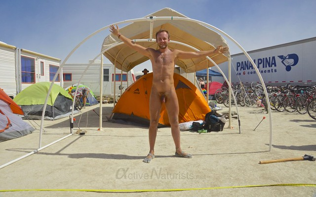 naturist 0022 Burning Man 2012, Black Rock City, NV, USA