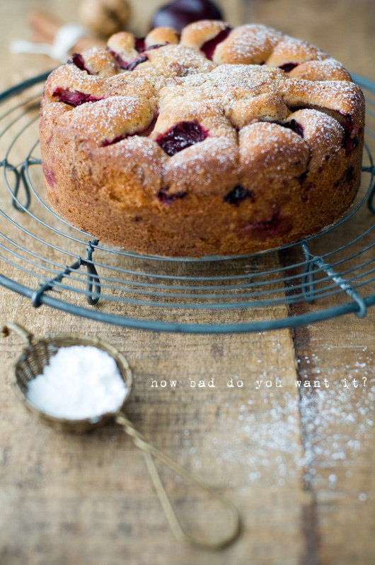 Delicious Bites: Plum Crumble Cake