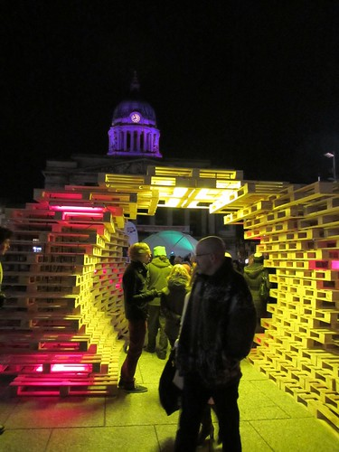 nottingham light night 2013