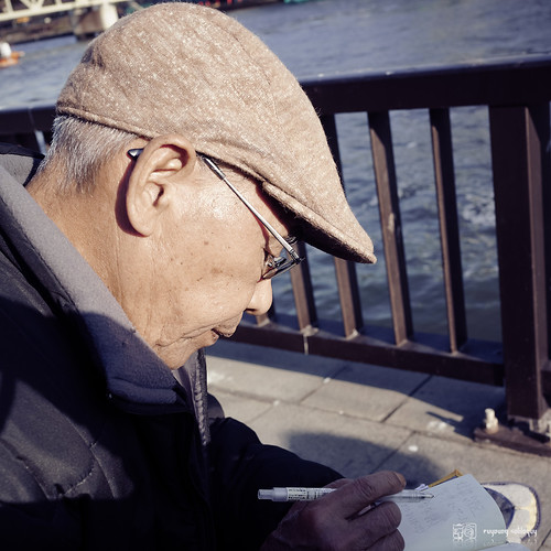 #8 在隅田川遇見的老伯