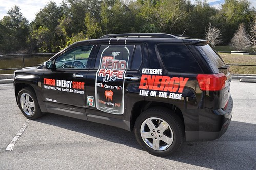 Terrain truck wrap by TechnoSigns.