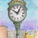 Lombard Town Clock