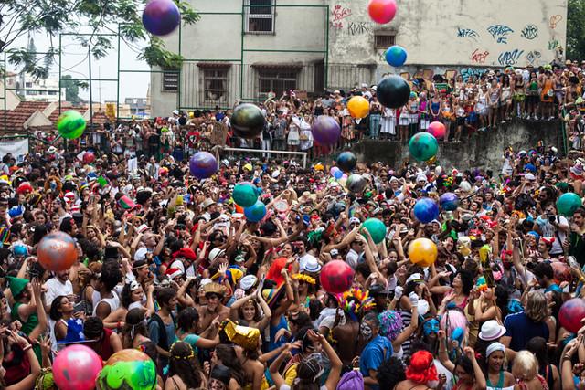 Carnival 2013 in Rio, Brazil