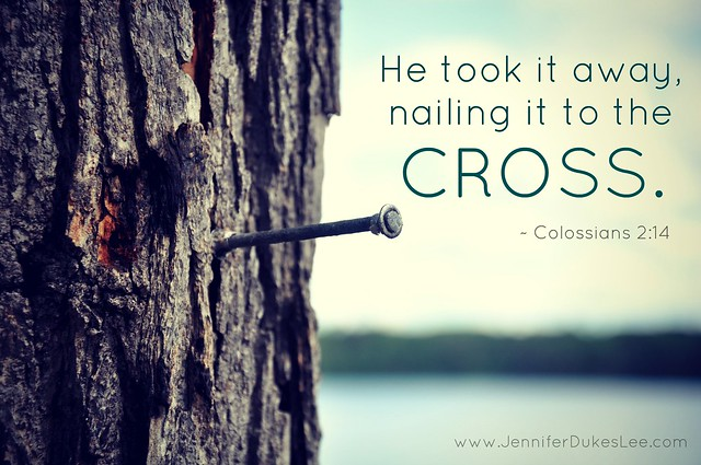 nailed to cross