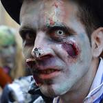 Zombie en el Carnaval de Cádiz