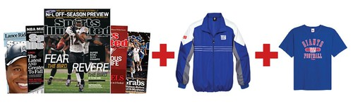 buy online 59305 e3dc4 Free NFL Jacket with a Sports Illustrated Magazine ...