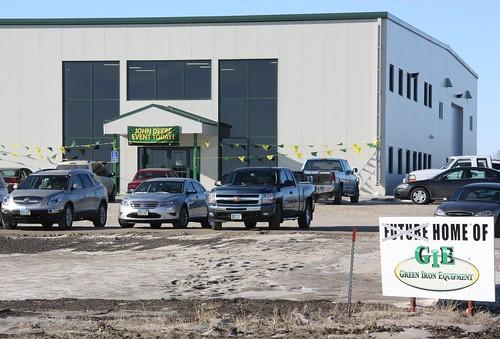 Usda helps a farm equipment dealership expand create jobs for Building a house with usda loan