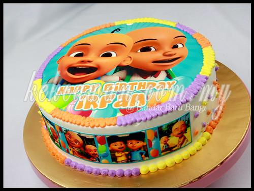 Upin Ipin Cake KEKCAWANCOMMY
