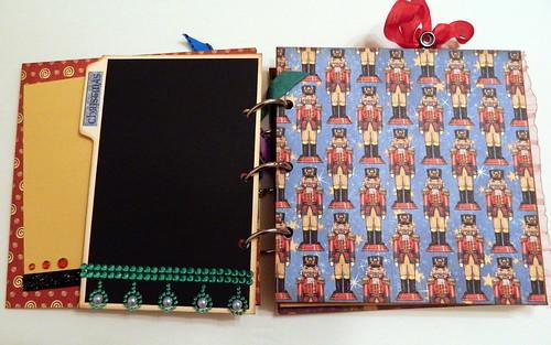 Graphic 45 Ring Bound Nutcracker Sweet Mini Album