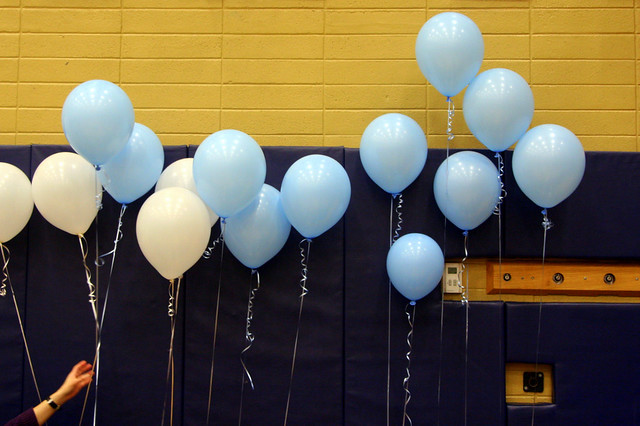 Prepping the Balloons