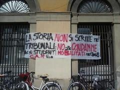 Pisa - la storia non si scrive nei tribunali