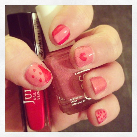 Kirstin Marie Valentines Day Nails