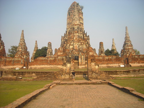 Backpacking Ayutthaya
