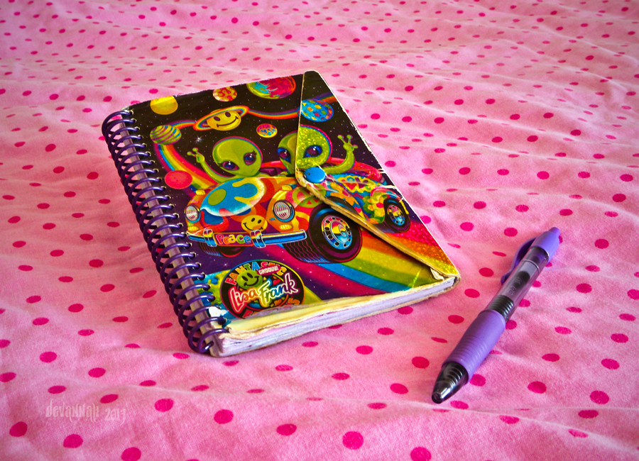 Lisa Frank Collage my Current Little Notebook is an Old One i Had by Lisa Frank i Make