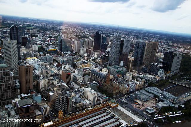 eureka melbourne city view