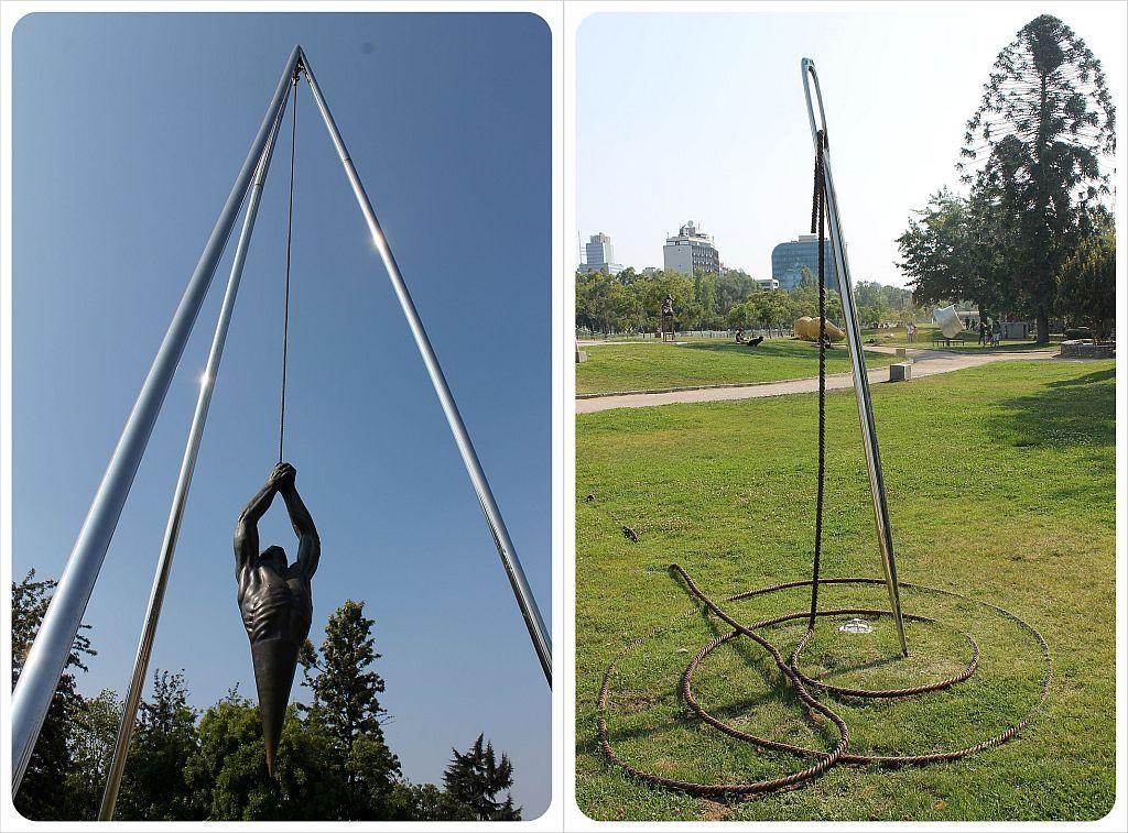 Santiago de Chile sculpture park