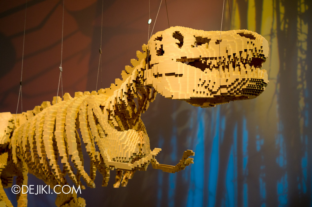 Art of The Brick - T-Rex Head