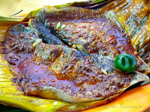 Suanie's Chinese New Year 2013 - Batu Pahat grilled stingray