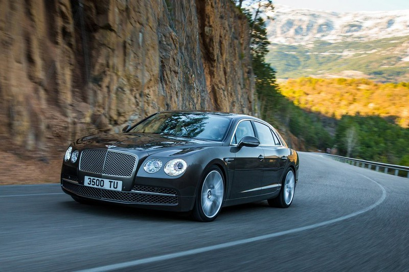 2014 Bentley Continental Flying Spur Front Side Motion