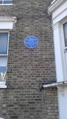 Photo of Ira Aldridge blue plaque