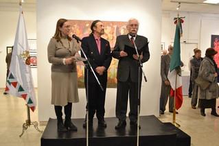 """Inauguración de la exposición """"Caleidoscopio de mi Imaginario"""" del Maestro Julio Carrasco Bretón"""