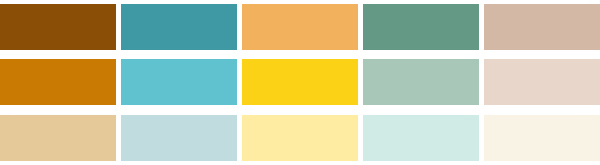 colour palette : spring sunshine | Emma Lamb