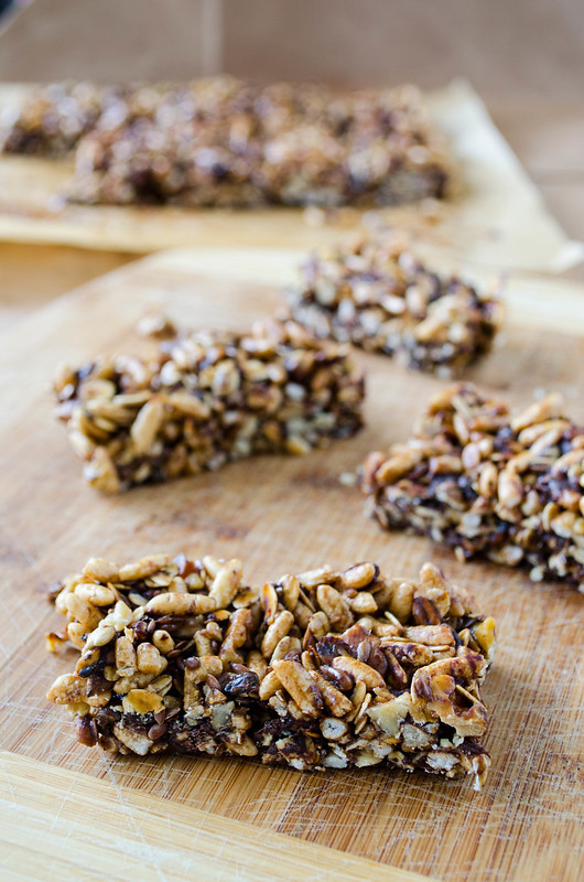 Chocolate Chip Granola Bars | cooking ala mel