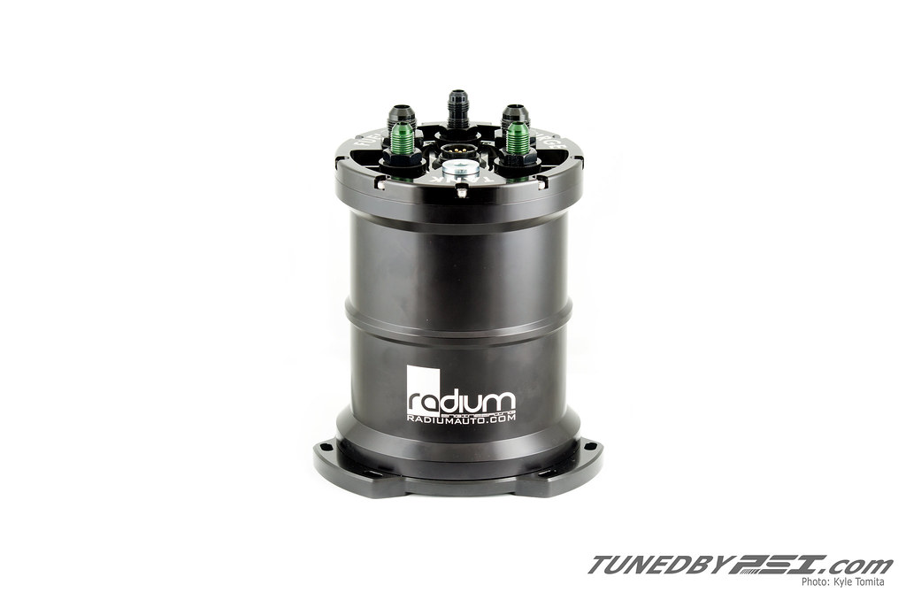 Radium Engineering Fuel Surge Tank - Portland Speed Industries