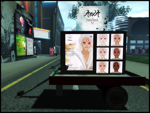 Fabulously Free in SL - Aeva // Heartsick @ The Wash Cart Sale