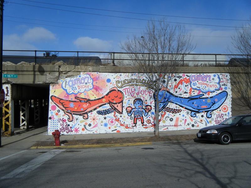 """""""Cucurrucucú"""" mural"""