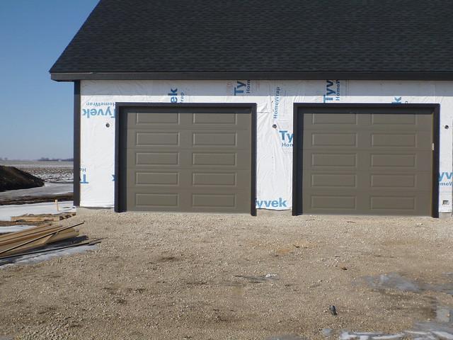 garage doors with trim flickr photo sharing