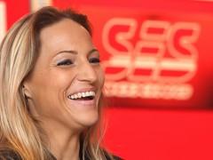 Dreifach-Weltmeisterin Ramona Kühne verteidigt gegen Anita Torti