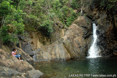 Topmost waterfall of Lambingan Falls