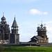 Russie Lac Onega et l'île de Kiji (Khizi)