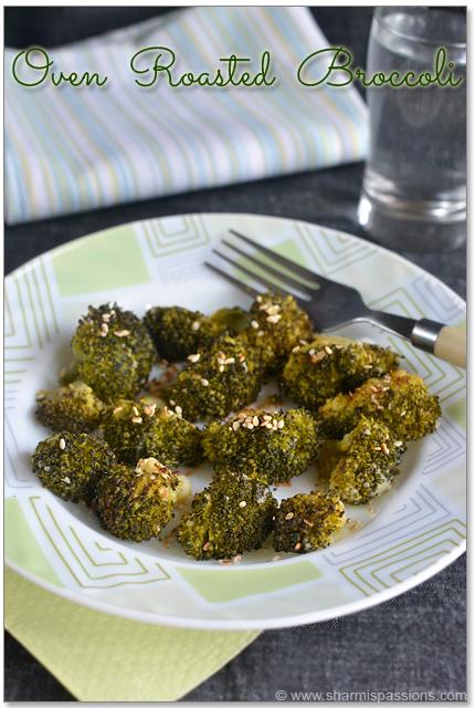 Oven Roasted Broccoli Recipe