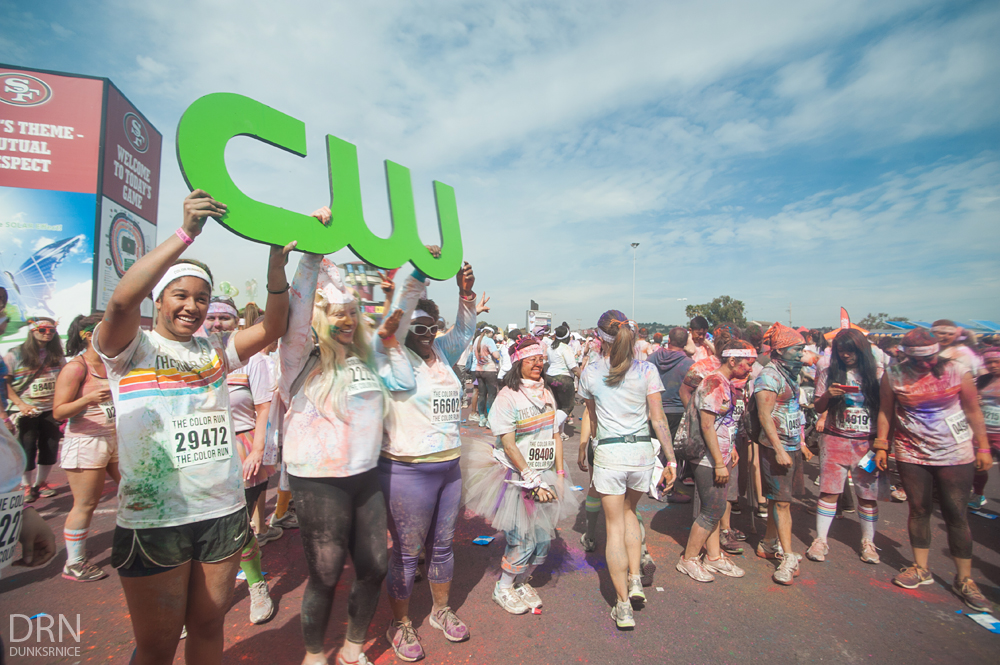 The Color Run San Francisco 2013.
