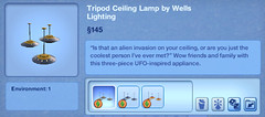 Tripod Ceiling Lamp by Wells Lighting