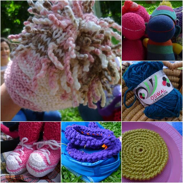 Piquenique & crochê: criações