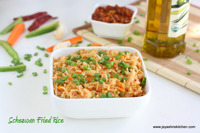 schezwan rice 2