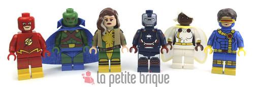 Super Heroes family by LaPetiteBrique.com