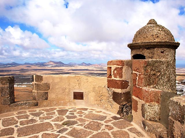 Castillo Santa Brabara, Teguise, Lanzarote
