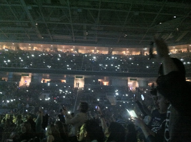 During Owl City's