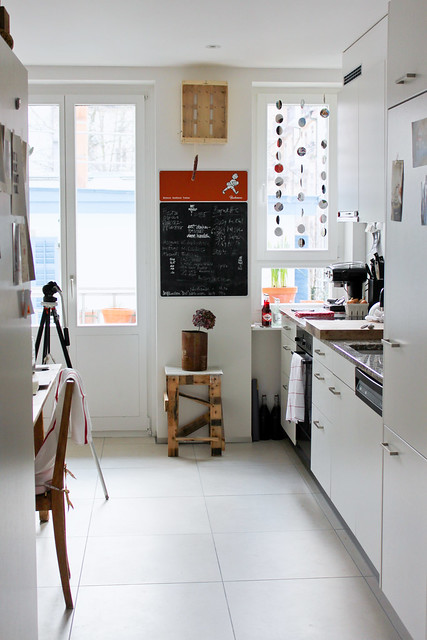 mach etwas : : : . . .: Küchenfenster Verschönerung