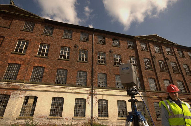 3D Laser scanning at Tean Mill