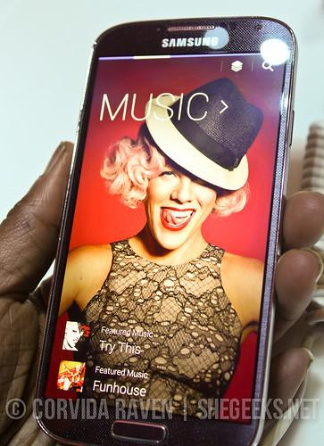 Samsung Galaxy S4 - Samsung Hub for Music