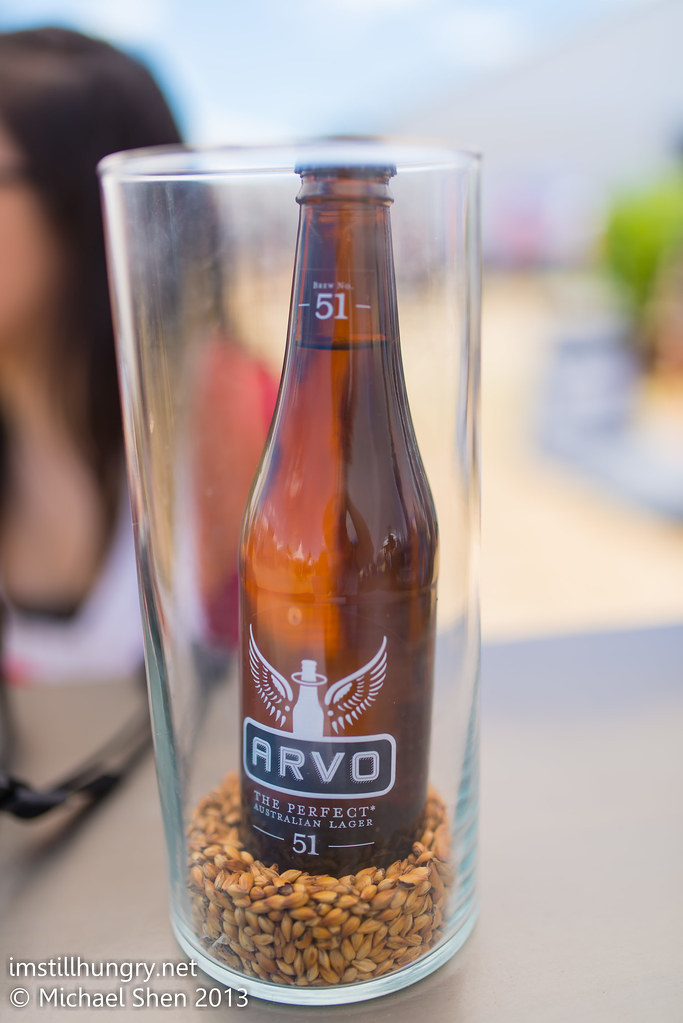 Taste of Sydney - arvo beer decoration