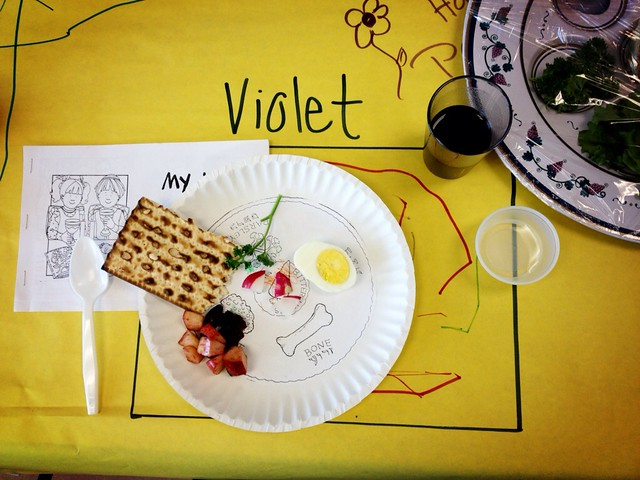 Preschool Seder