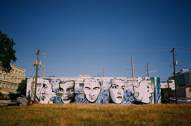 Mural West Palm Beach Minolta Freedom Dual Camera And