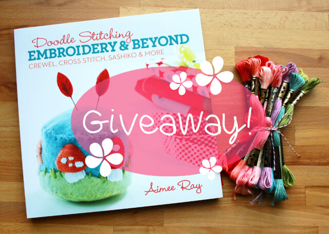 Doodle Stitching Embroidery & Beyond giveaway